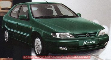 1998 CITROEN XSARA 1.8I 16V EXCLUSIVE 5DR